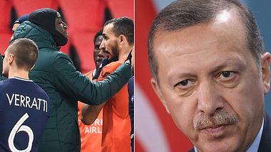 Pierre Webo, Recep Erdogan - Foto: GettyImges/ FRANCK FIFE, GettyImages/ Sean Gallup
