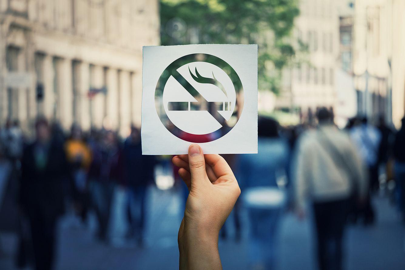 Rauchen verboten-Schild