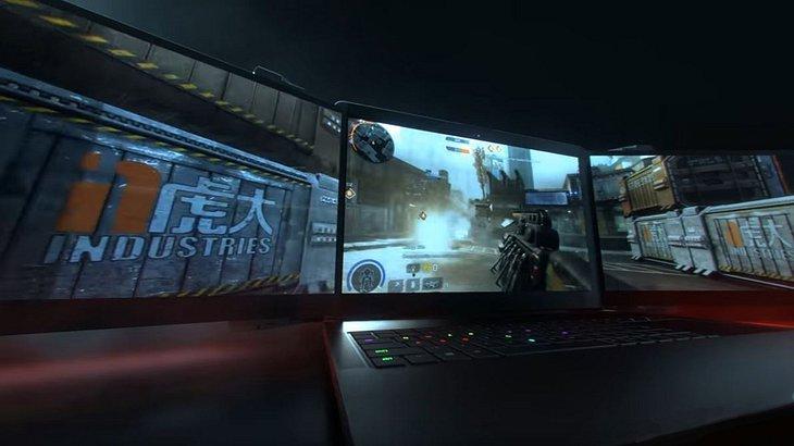Razers Project Valerie: Ein Laptop mit drei Monitoren