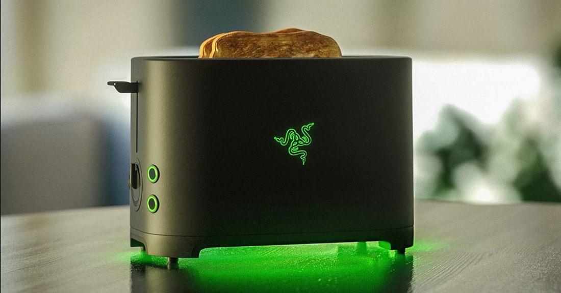 Der Toaster von Razer kommt