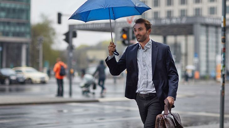 Regenschirm - Stockschirm - Taschenschirm - Glockenschirm