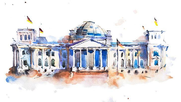 Festnahme: Chinesen setzen vorm Reichstag zum Hitlergruß an