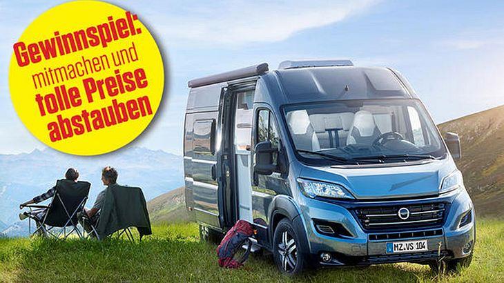 Autozeitung ruft zur großen Reisemobil-Wahl auf