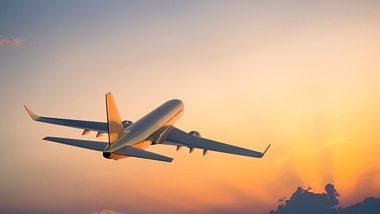 Flugzeug am Himmel - Foto: iStock/spooh