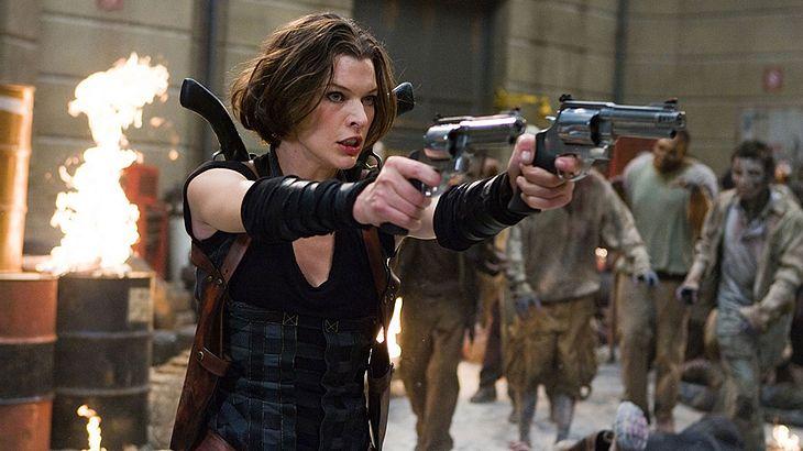 "Milla Jovovich in ""Resident Evil: Aferlife"""