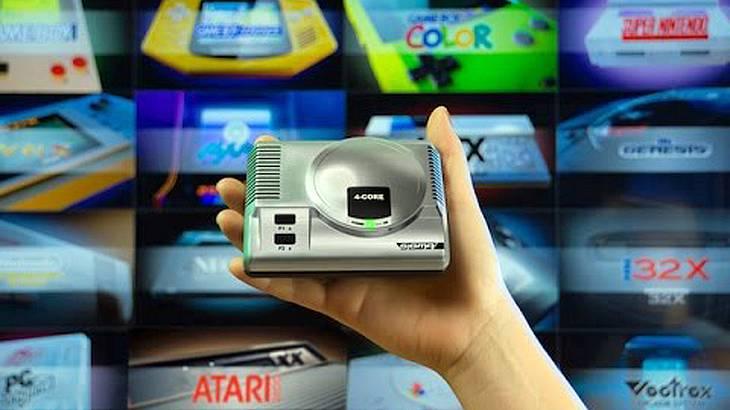 Die Retro-Gaming-Konsole Sigma von Doyodo vereint 28 kultige Spielesysteme in sich