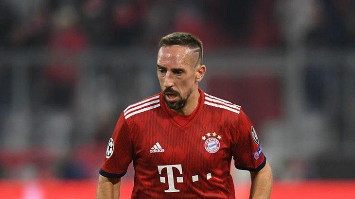 Franck Ribéry  soll TV-Mann geohrfeigt haben.