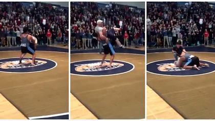 High-School-Ringer vernichtet Schulleiter per Side-Suplex