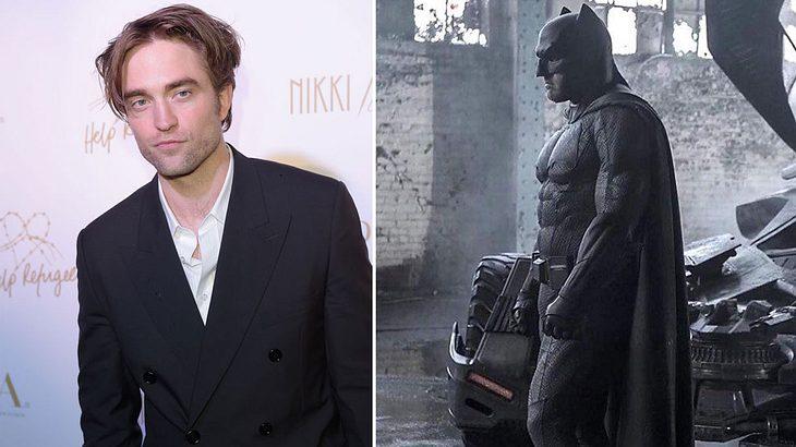 Robert Pattinson wird der neue Batman