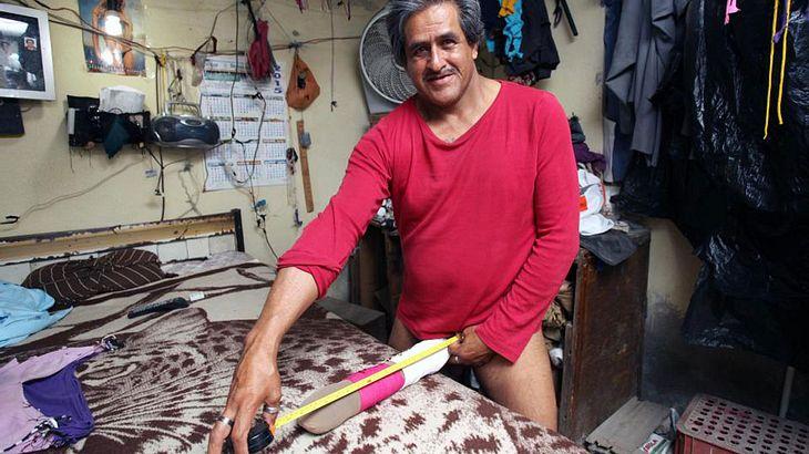 Roberto Esquivel Cabrera hat den größten Penis der Welt