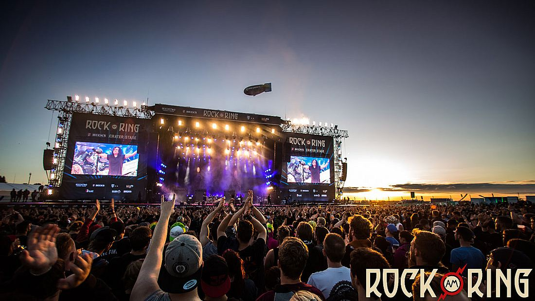 Rock am Ring-Festival am Nürburgring.