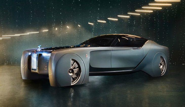 Futuristisches Design, ohne dabei die Markenidentität aufzugeben: Der Rolls-Royce 103EX