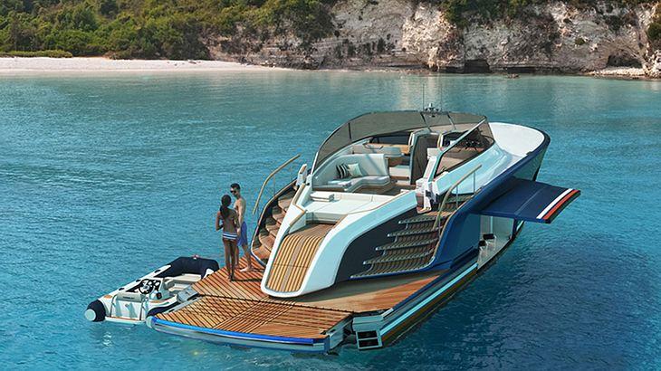 Aeroboat: Platz für die besten Freunde und jeden erdenklichen Luxus