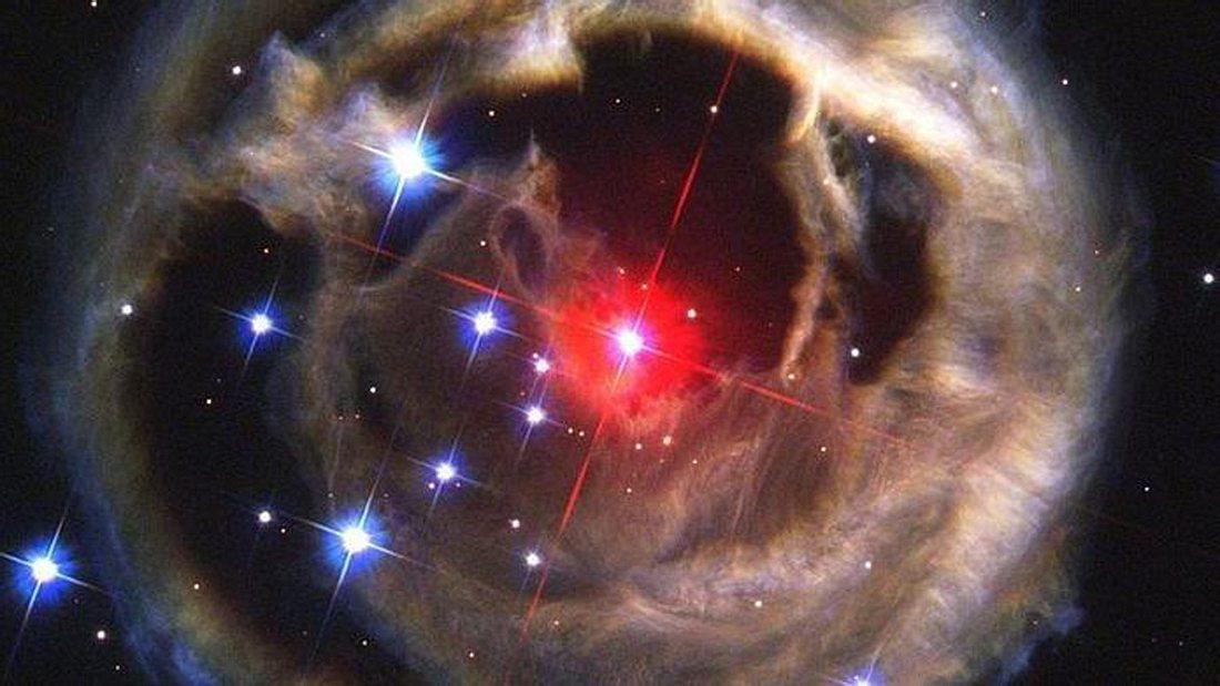 Rote Nova V838 Monocerotis