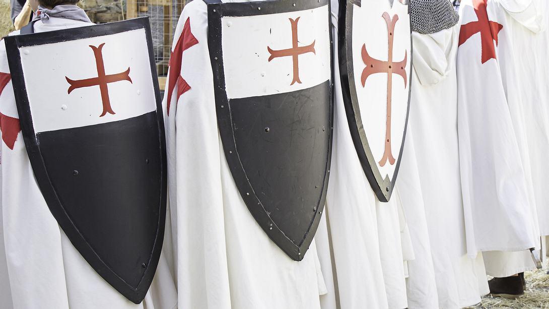 Rotes Kreuz: Das Symbol der Tempelritter - Foto: iSock / fotocelia