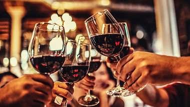 Studien: Zwei Gläser Wein pro Tag helfen beim Abnehmen