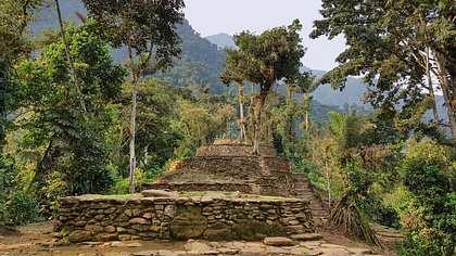 Ruinen einer antiken Stadt in Kolumbien - Foto: iStock / prill