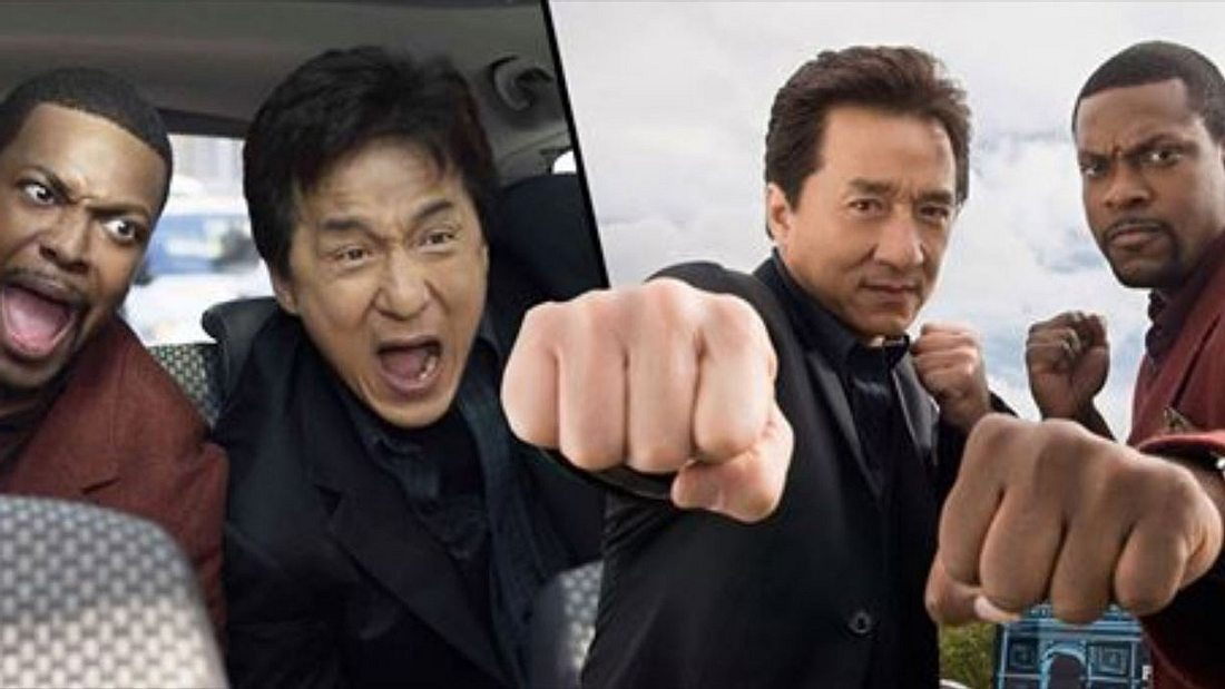 Jackie Chan und Chris Tucker in Rush Hour