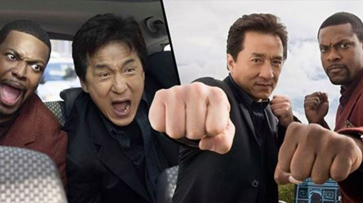 "Jackie Chan und Chris Tucker in ""Rush Hour"""