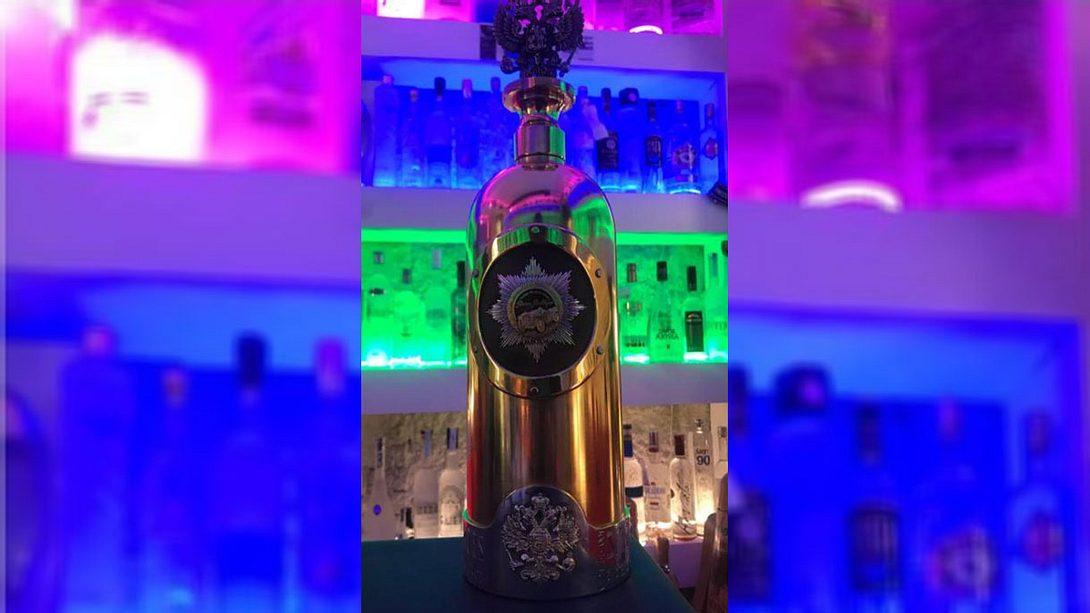 Dieb stiehlt die teuerste Wodka-Flasche der Welt