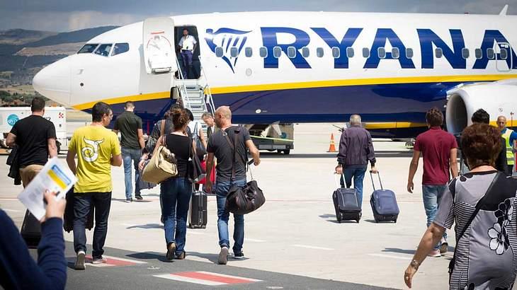 Ryanair lagert das das Handgepäck aus