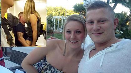 Ryanair-Rammler hatte Sex auf Flug. Seine Verlobte wartete zuhause - schwanger!