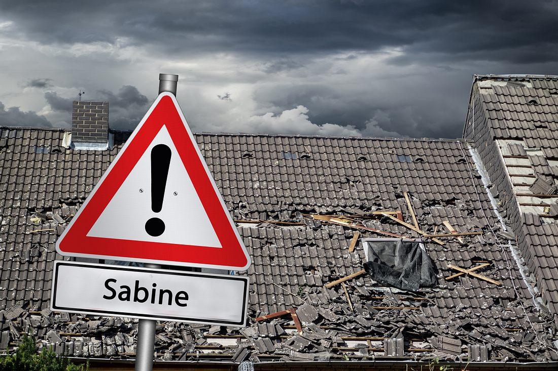Wenn Sabine kommt, wird's heftig