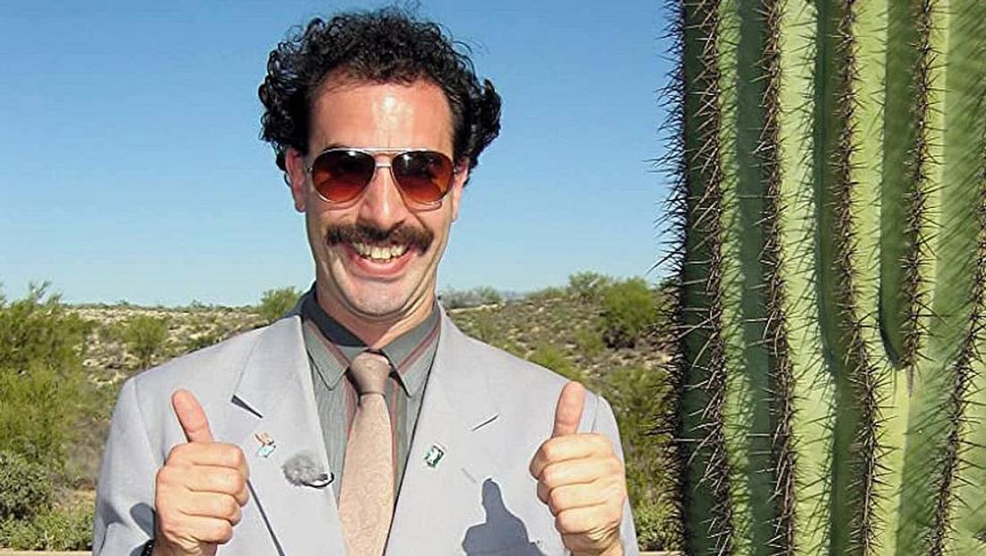 Sacha Baron Cohen als Borat