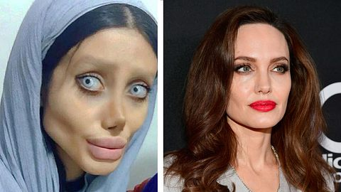 Sahar Tabar / Angelina Jolie