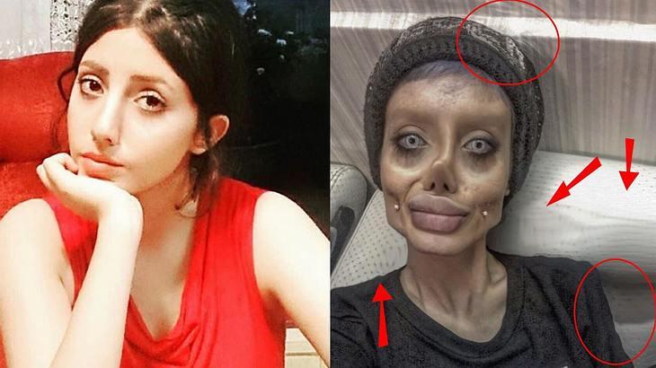 Sieht Sahar Tabar doch nicht aus wie ein Zombie