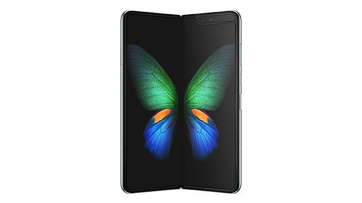 Samsung hat sein erstes faltbares Smartphone vorgestellt.