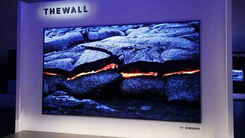 146 Zoll: Samsung baut mit The Wall Fernseher mit 3,70 Metern Diagonale - Foto: twitter/andreaslindner
