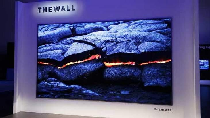 """146 Zoll: Samsung baut mit """"The Wall"""" Fernseher mit 3,70 Metern Diagonale"""