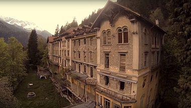 Das Sanatorio del Gottardo in der Schweiz - Foto: YouTube / KennyRubick - Discover your Neighborhood