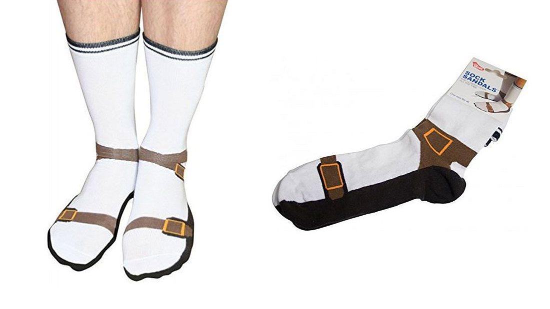 Sandalen Socken