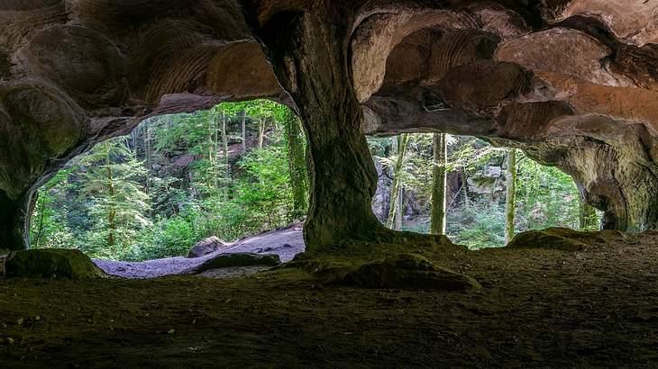 Symbolbild für Sandsteinhöhle