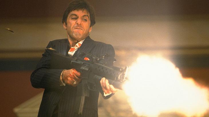 """Scarface"" (1983) mit Al Pacino als Tony Montana"