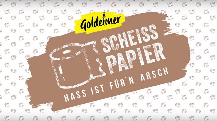 Sch***papier: Dieses Klopapier besteht aus rechter Hetze