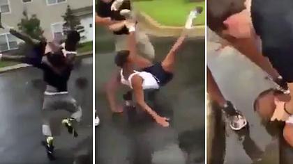 Bully Beatdown: Der Neue auf dem Pausenhof verprügelt den Schulschläger - Foto: YouTube/MF