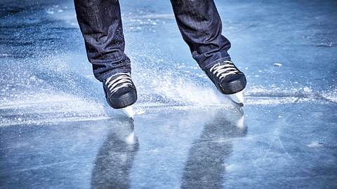 Schlittschuhläufer - Foto: iStock / Bondariev