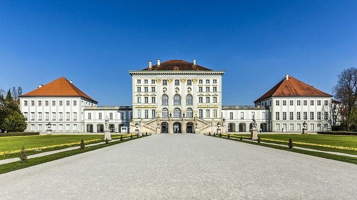 Schloss Nymphenburg in München.