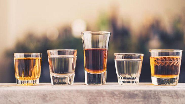Schnapsgläser - Shotgläser - Cocktailgläser