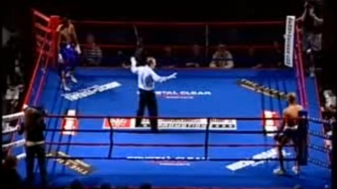 Der schnellste KO der Boxgeschichte: Phil Williams vs Brandon Burke - Foto: YouTube / Papa Bear