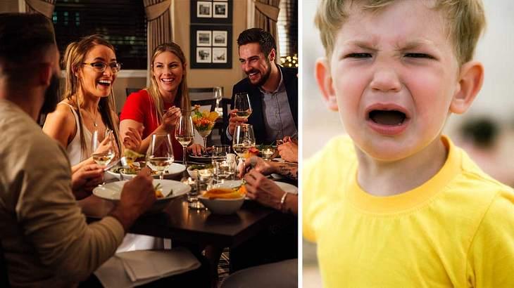 Schreiende Kinder im Restaurant? Nein, Danke!