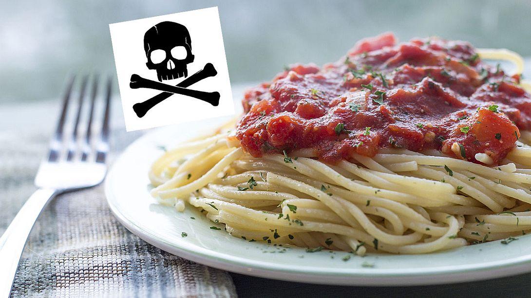 Schüler wärmt sich Teller Spaghetti auf – tot