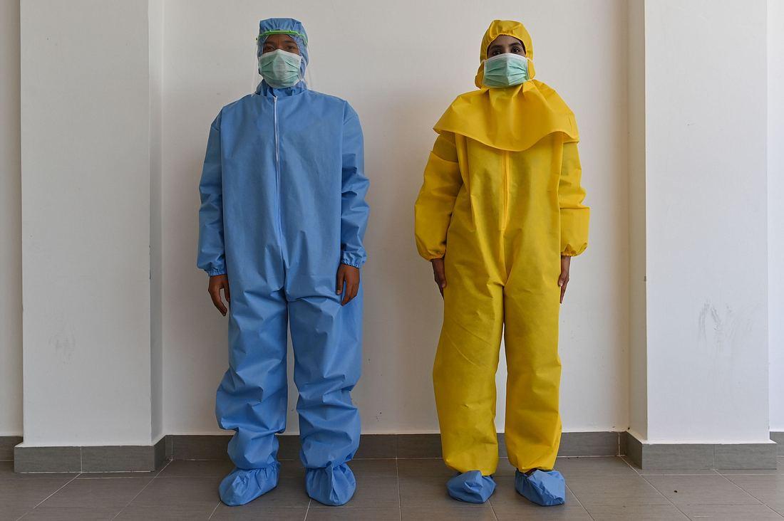 Schutzkleidung gegen das Coronavirus