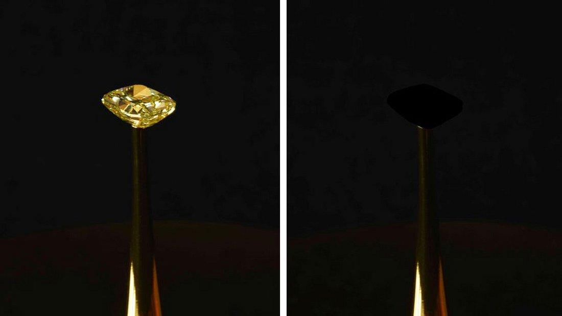 Schwärzestes Schwarz - Ein Diamant verschwindet