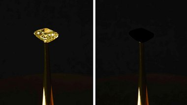 Schwärzestes Schwarz - Ein Diamant verschwindet - Foto: Diemut Strebe/ MIT