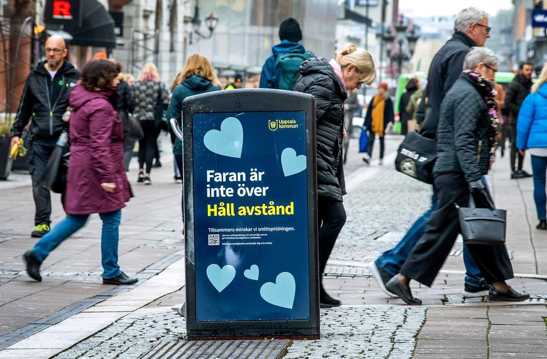 Schwedische Fußgängerzone