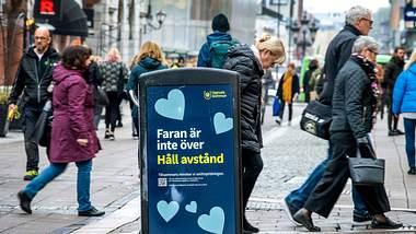 Schwedische Fußgängerzone - Foto: imago images / TT